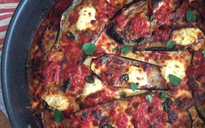 Parmigiana alla melanzane – Eggplant parmigiana